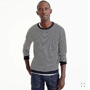 J. Crew Men's Cotton Pullover Crew Neck Sweater L